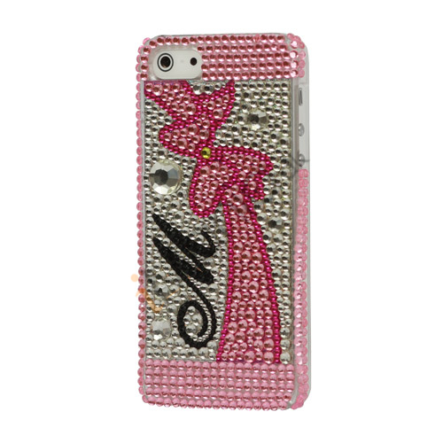 Image of   Luksus Bowknot Wo Hard Diamond Case iPhone 5 cover