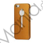 Image of   Luksus Metal Case Cover Tilbehør til iPhone 5 - Guld