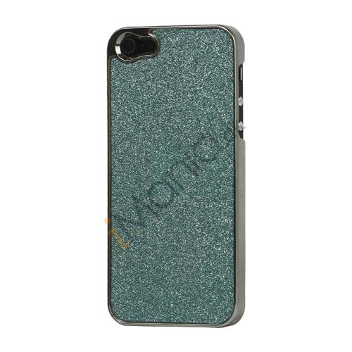 Image of   Glitrende Powder Metalbelagt Hard Case iPhone 5 cover - Grøn