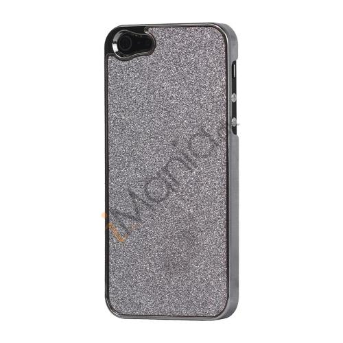 Image of   Glitrende Powder Metalbelagt Hard Case iPhone 5 cover - Lilla