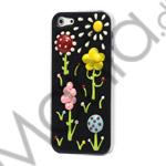 Image of   3D Vivid Blomster Sunshine Hard Cover Case til iPhone 5
