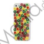 Image of   Colorful Fruits Slice Hard Back Case til iPhone 5