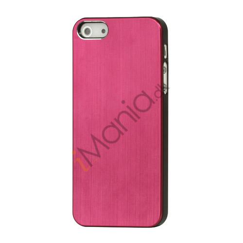 Image of   Børstet Hard Plastic Case iPhone 5 cover - Rød