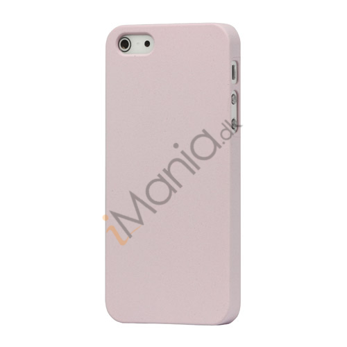 Image of   Frosted Hard Plastic Cover Case til iPhone 5 - Pink