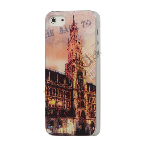 Image of   European Style Building Scenery Hard Case iPhone 5 cover