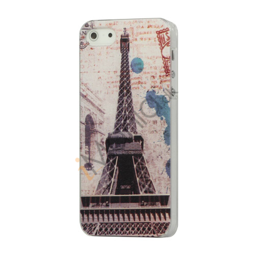 Image of   Famous Eiffel Tower Hard Plastic Case iPhone 5 cover