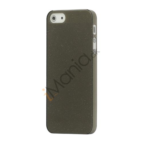 Image of   Flash Powder Hard Crystal Case Cover til iPhone 5 - Grå
