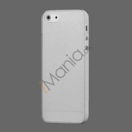 Image of   Flash Powder Hard Crystal Case Cover til iPhone 5 - Gennemsigtig