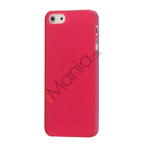 Image of   Flash Powder Hard Crystal Case Cover til iPhone 5 - Pink