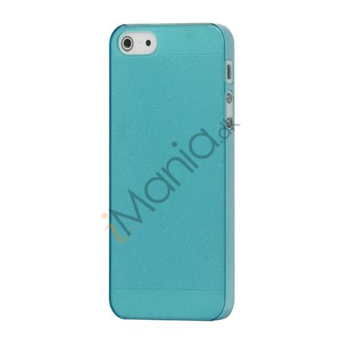Image of   Flash Powder Hard Crystal Case Cover til iPhone 5 - Blå