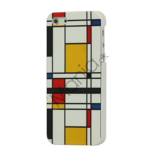 Image of   Glimmer Farverige Gitters Hard Plastic Case Cover til iPhone 5
