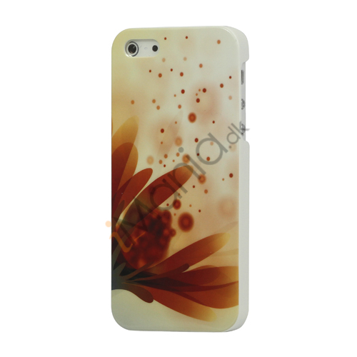 Image of   Elegant Daisy Blankt Hard Case iPhone 5 cover
