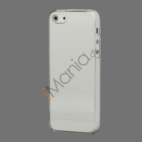 Ultra Thin Crystal Hard Case iPhone 5 cover - Transparent Transparent