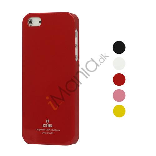 Image of   Blankt Hard Plastic Cover Case til iPhone 5