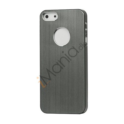 iPhone 5 Lightweight Børstet Aluminium Beskyttelses Case Cover - Silver