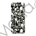 Image of   iPhone 5 Hard Case Cover Cool Skull Skeleton