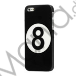 Billiards Sort Number 8 Ball Hard Case iPhone 5 cover
