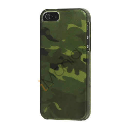 Image of   Army Grøn Camouflage Snap-on Case iPhone 5 cover
