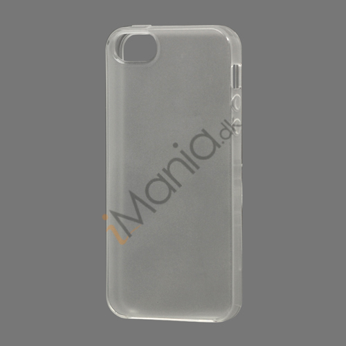 Image of   Gloosy TPU Gele Case Cover til iPhone 5 - Transparent