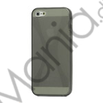 Image of   X Formet iPhone 5 TPU Gel Cover Case - Grå