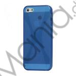 Image of   X Formet iPhone 5 TPU Gel Cover Case - Blå