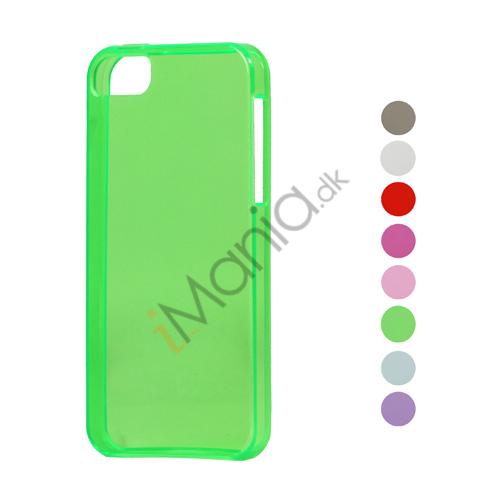 Image of   Høj Glimmer TPU Gele Case Cover til iPhone 5