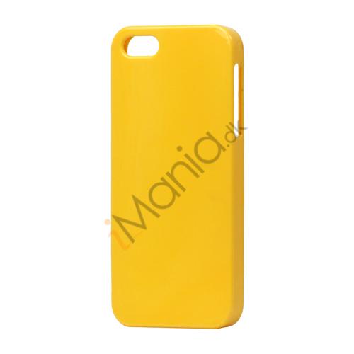 Image of   Fast Farve Blød Fleksibel TPU Gele Case til iPhone 5
