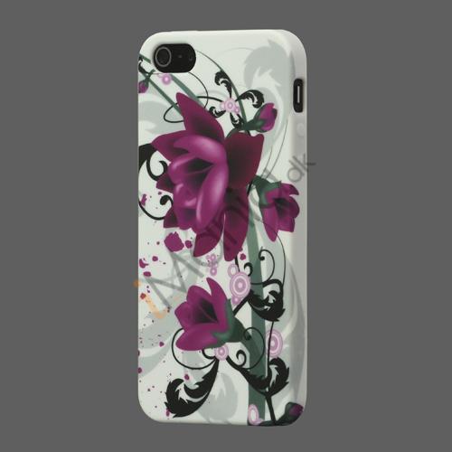 Billede af Smukke Lotus TPU iPhone 5 cover