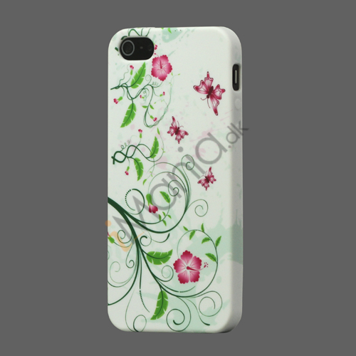 Image of   Morning Glory TPU Beskyttende Case Cover til iPhone 5