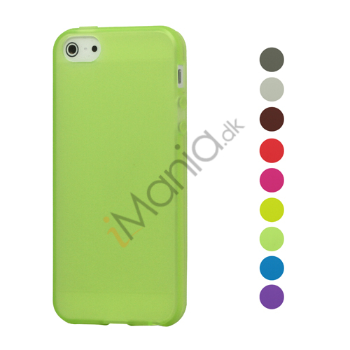 Image of   Frosted TPU Cover Case til iPhone 5