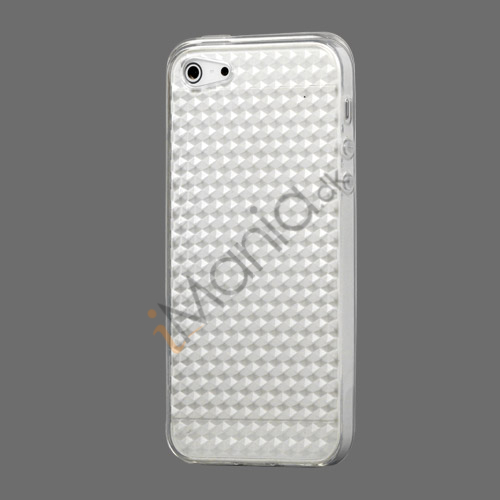 Image of   Diamond TPU Gel iPhone 5 cover - Gennemsigtig