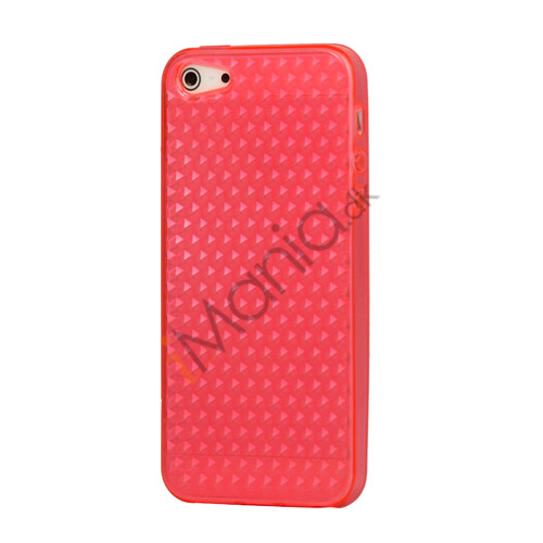 Image of   Diamond TPU Gel iPhone 5 cover - Rose