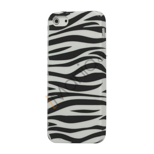 Zebra Skin Gel TPU Case iPhone 5 cover