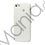 Image of   Stylish Blade TPU Gel Cover Case til iPhone 5 - Hvid