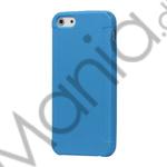 Image of   Stylish Blade TPU Gel Cover Case til iPhone 5 - Blå