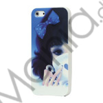 Girl Drinks Water TPU Gel Case til iPhone 5