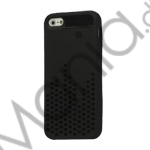 Anti-slip Equalizer Style TPU Case iPhone 5 cover - Sort