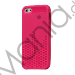 Image of   Anti-slip Equalizer Style TPU Case iPhone 5 cover - Hot Pink