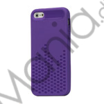 Image of   Anti-slip Equalizer Style TPU Case iPhone 5 cover - Lilla