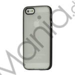 Image of   Two-color Frosted TPU and Plastic Combo Case iPhone 5 cover - Sort / Translucent