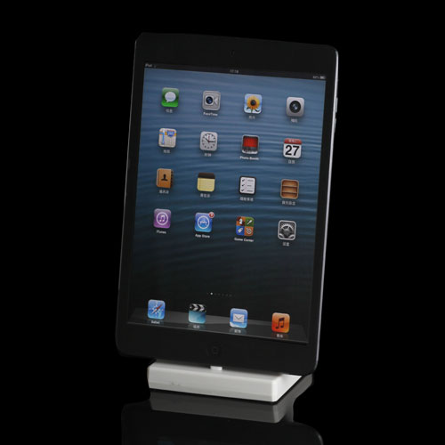 Lader Dock og Holder til iPad Mini og iPhone 5 - Hvid