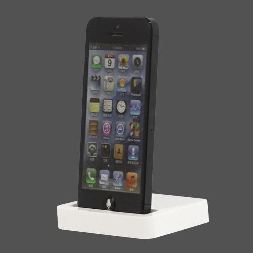 IPhone 5 skrivebordsoplader / docking station - Tilfældig farve