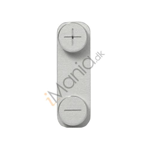 Billede af Volumen knapper til iPhone 5 - Sølv