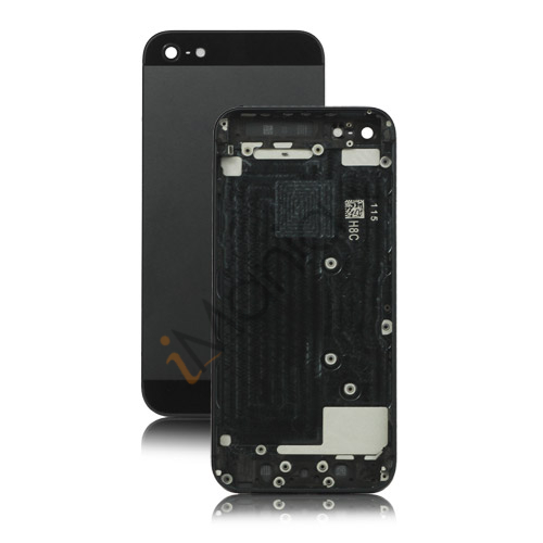 iPhone 5 bagcover - Sort