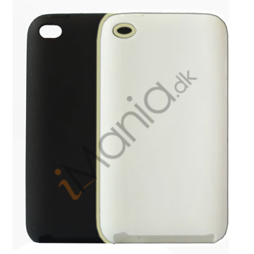 iPod Touch 4 cover, sort / hvid