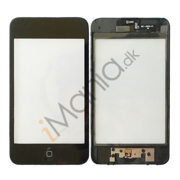 iPod Touch 3G digitizer assembly ramme og home-knap
