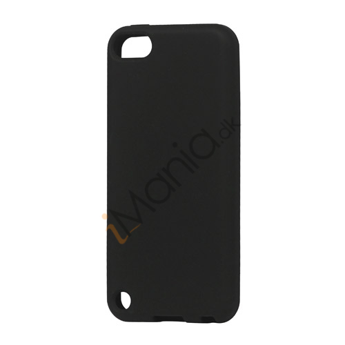 Image of   Fleksibel Silicone Cover til iPod Touch 5 - Sort