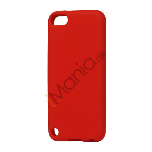 Image of   Fleksibel Silicone Cover til iPod Touch 5 - Rød