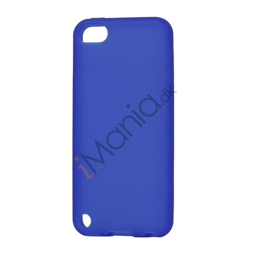 Image of   Fleksibel Silicone Cover til iPod Touch 5 - Mørkeblå