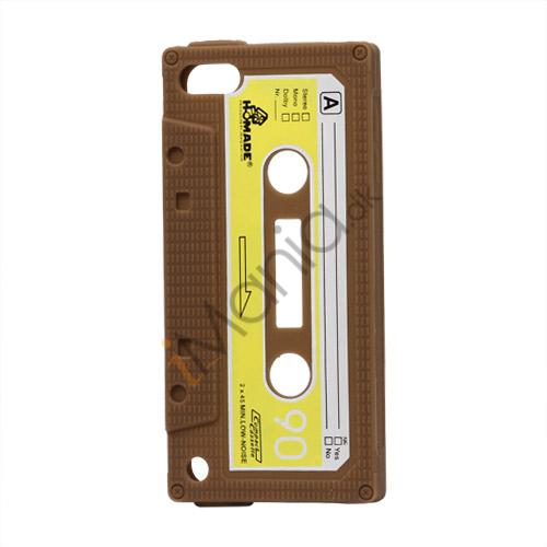 Tyndt Kassettebånd Silicone Cover til iPod Touch 5 - Brun
